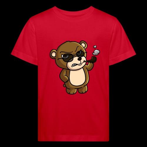 AngryTeddy - Kids' Organic T-Shirt