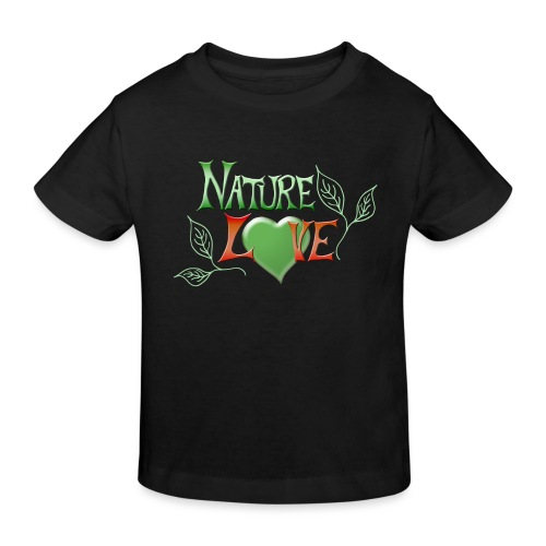 Nature Love - Kinder Bio-T-Shirt