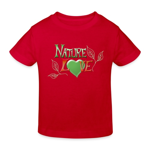 Nature Love - Kinder Bio-T-Shirt