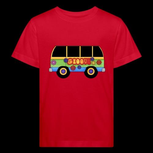 GROOVY BUS - Kids' Organic T-Shirt