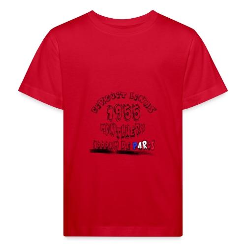 Les anciennes courses automobile - T-shirt bio Enfant