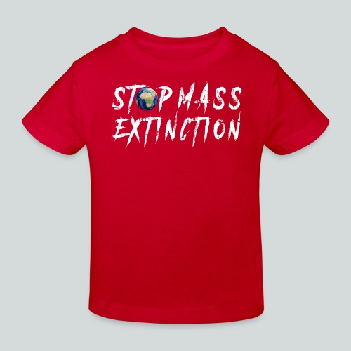 STOP MASS EXTINCTION - T-shirt bio Enfant