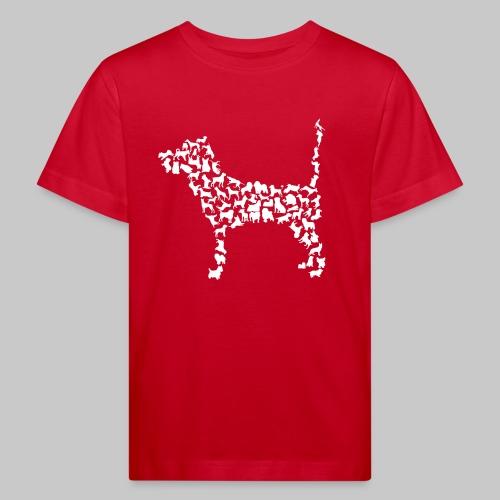 Hunde Kollage - Kinder Bio-T-Shirt