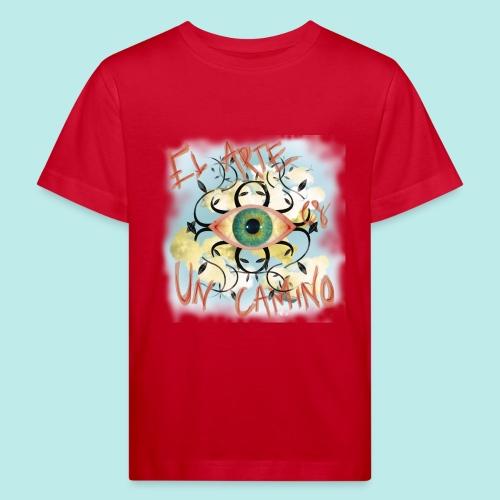 El Arte es un camino - Camiseta ecológica niño