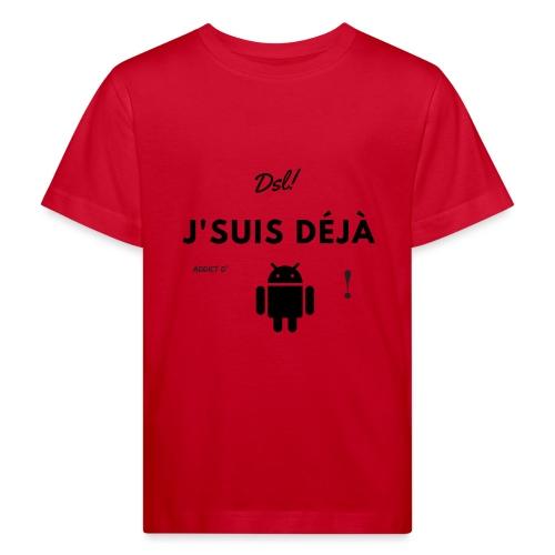 addict d Aandroid - T-shirt bio Enfant