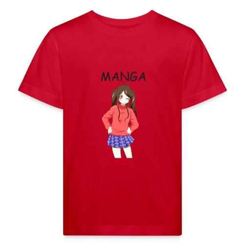 Anime girl 02 Text Manga - Kinder Bio-T-Shirt