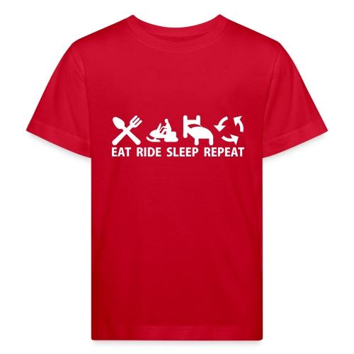 Snöskoter (Sled) - Ekologisk T-shirt barn
