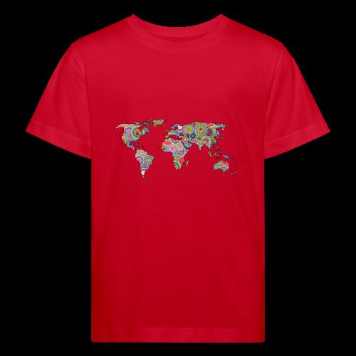 Hipsters' world - Kids' Organic T-Shirt