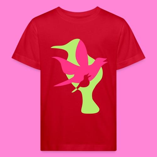 birds - Kinderen Bio-T-shirt