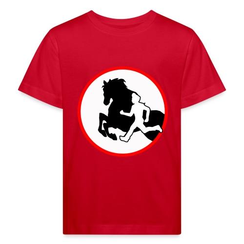 Horse Agility Logo - Kinder Bio-T-Shirt
