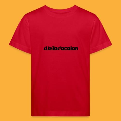 DJATODOCOLOR LOGO NEGRO - Camiseta ecológica niño