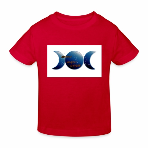CAMISETA WICCA MA GIC WORLD, PARA EL DISFRUTE - Camiseta ecológica niño