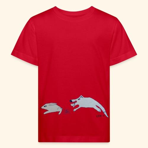 LeniT Catch Me If You Can - Lasten luonnonmukainen t-paita