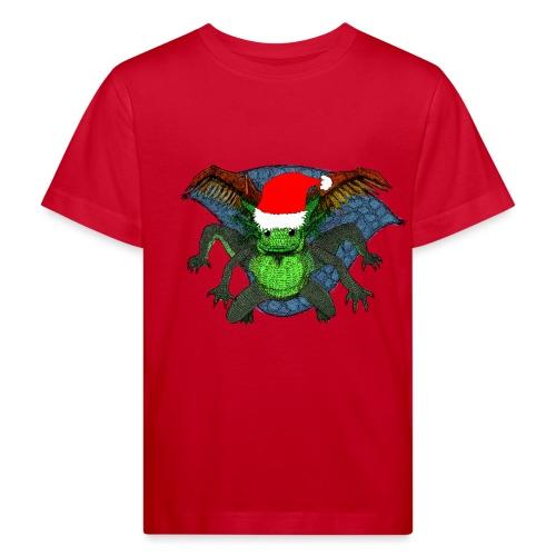 191213 umatodo gorro papa noel - Camiseta ecológica niño