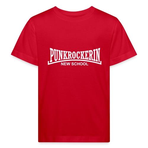 punkrockerin new school - Kinder Bio-T-Shirt