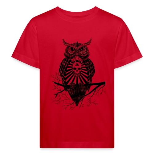Hibou Psychédélique - T-shirt bio Enfant