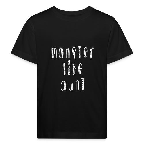 Aunt - Lasten luonnonmukainen t-paita