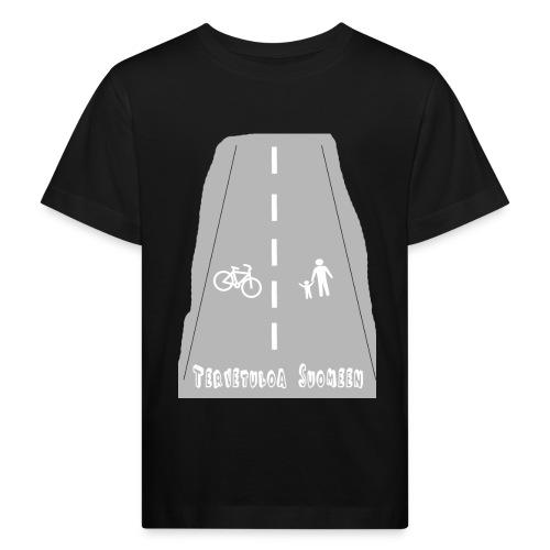 Tervetuloa Suomeen - Lasten luonnonmukainen t-paita