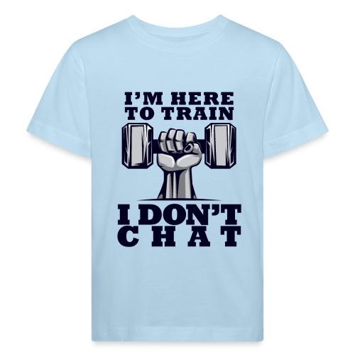 Train Chat - Lasten luonnonmukainen t-paita