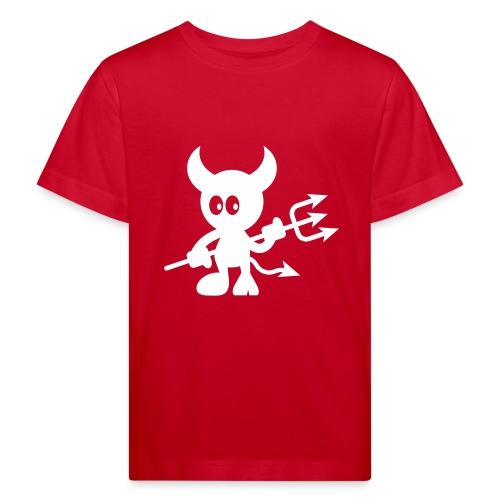 vl017_teufel - Kinder Bio-T-Shirt
