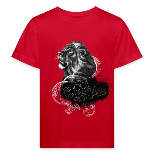Cecil voor op een gekleurd shirt - Kids' Organic T-Shirt