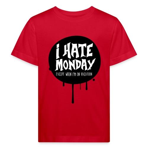 je déteste le lundi - T-shirt bio Enfant