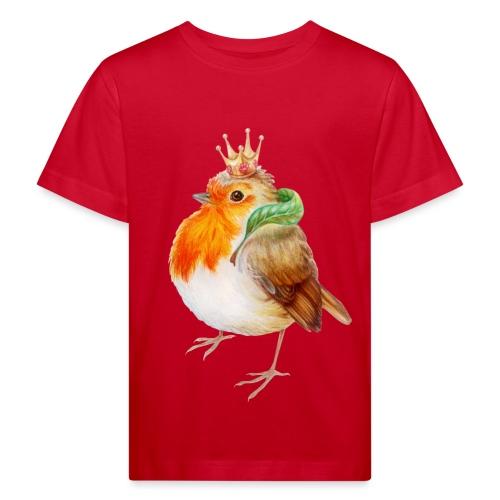 Koninklijk Roodborstje - Kids' Organic T-Shirt