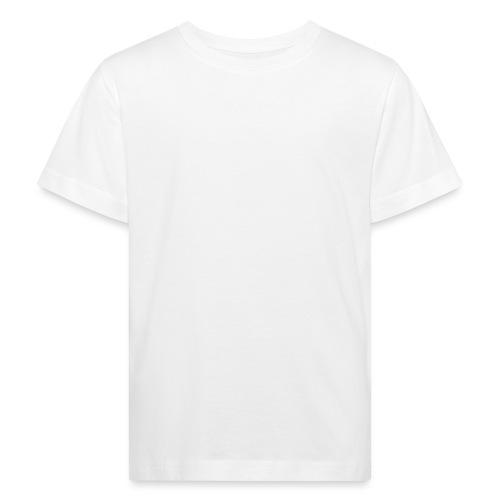 OPP Logo White - Lasten luonnonmukainen t-paita