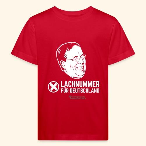 Lachnummer für Deutschland - Kinder Bio-T-Shirt