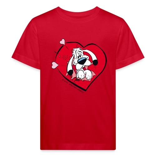 Asterix & Obelix - Idefix amoureux - T-shirt bio Enfant