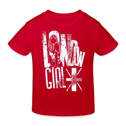 London Girl - Kinder Bio-T-Shirt