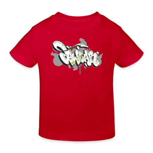 Mesk 2Wear graffiti style 7up ver02 - Organic børne shirt