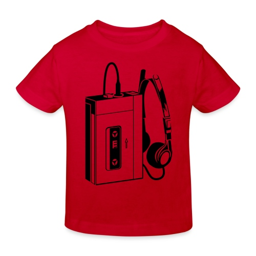 WALKMAN - T-shirt bio Enfant