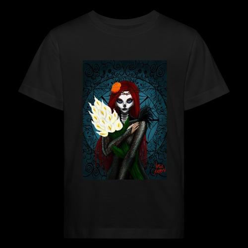 Death and lillies - Kids' Organic T-Shirt
