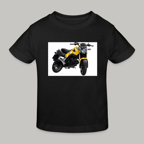 Grom Motorcycle (Monkey Bike) - Kids' Organic T-Shirt