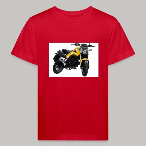 Grom Motorcycle (Monkey Bike) - Kids' Organic T-Shirt