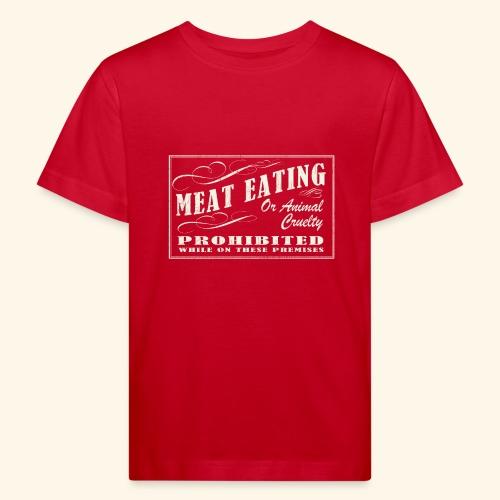 Prohibition Sign - Kids' Organic T-Shirt