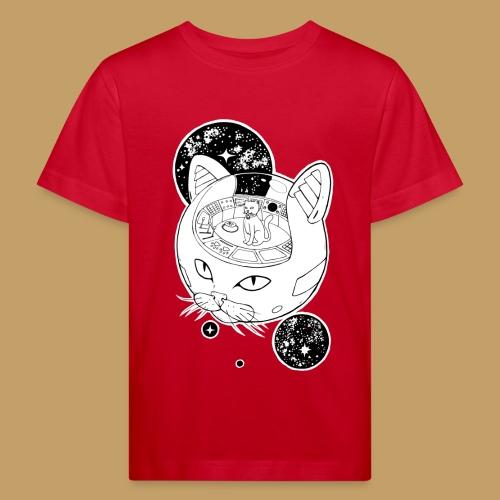 Kosmiczny Kot Imperator - Ekologiczna koszulka dziecięca