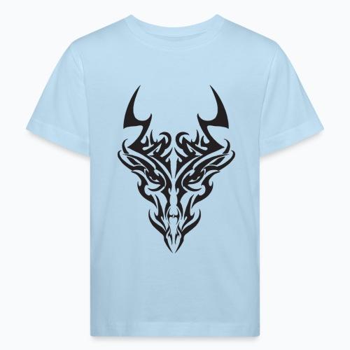 tribal dragon - T-shirt bio Enfant