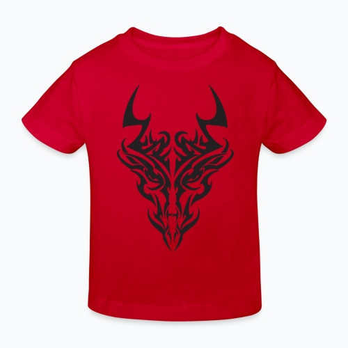 tribal dragon - T-shirt bio Enfant