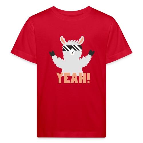 Cool Llama YEAH! - Organic børne shirt