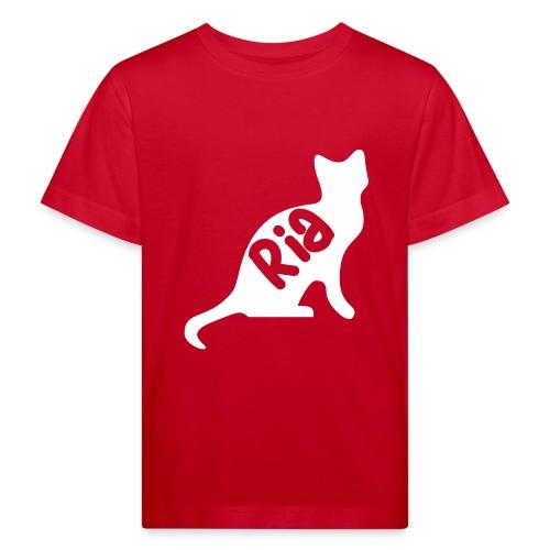 Team Ria Cat - Kids' Organic T-Shirt