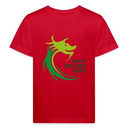 LoPi Kraft der vier Tiere - Kinder Bio-T-Shirt