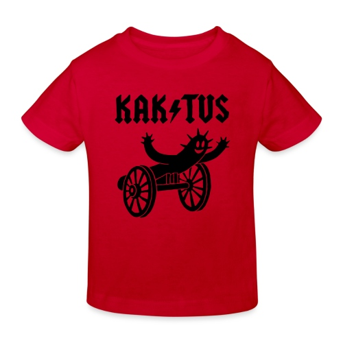 Kaktus Rock - Kinder Bio-T-Shirt
