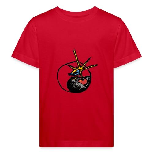 Mindfackt logo - Lasten luonnonmukainen t-paita