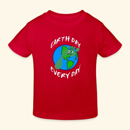 Earth Day Every Day - Kinder Bio-T-Shirt