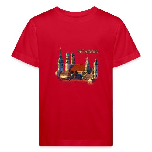München Frauenkirche - Kinder Bio-T-Shirt