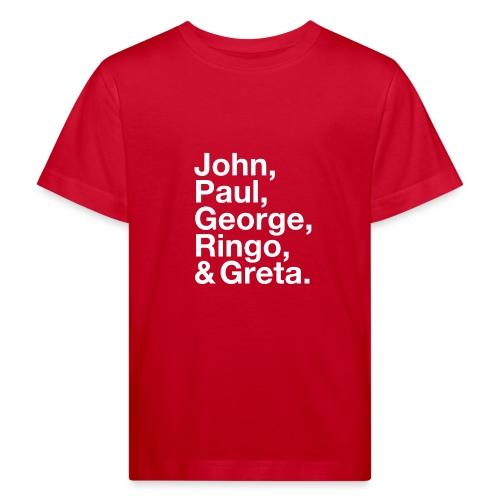 JPGRG white - Kinder Bio-T-Shirt