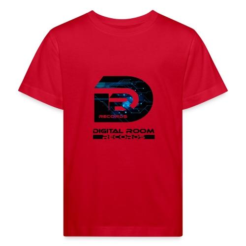 Digital Room Records Official Logo effect - Kids' Organic T-Shirt