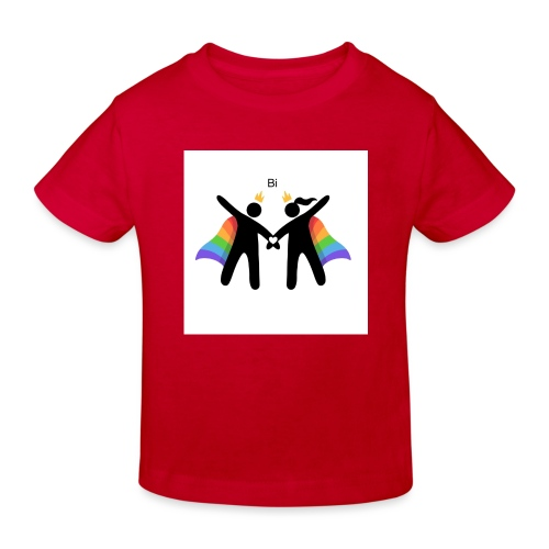 LGBT BI - Organic børne shirt